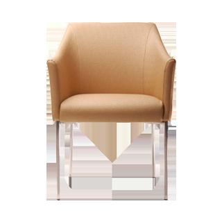 欧式宜家单人餐椅休闲椅