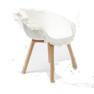 碰撞的牛奶休闲椅